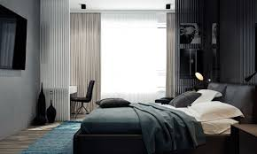 Black Feature Wall In Bedroom 4 Monochrome Minimalist Spaces Creating Black And White Magic