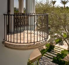 Balcony Design by Stone Accent On Balcony Shares More Than Natural Appeal Homesfeed