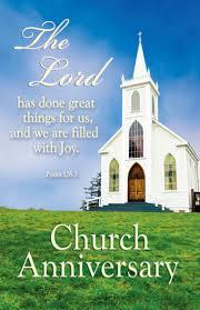 american church anniversary poems american