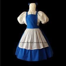 Belle Halloween Costume Belle Blue Dress Size Halloween Costume Beauty