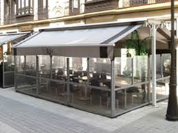 Wall Awning Retractable Glass Walls Retractable Deck U0026 Patio Awnings Sunair