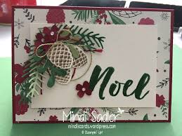 christmas cards stampin up christmas pines stamp set pretty