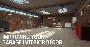 Garage Interior Design Improving Your Garage Interior Décor