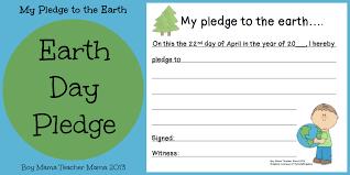 boy mama earth day pledge boy mama teacher mama