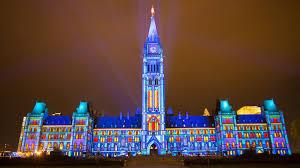 sound and light show on parliament hill northern lights ottawa