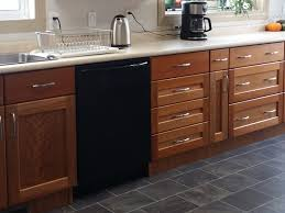 specialized spaces transitional kitchen u2013 recessed natural cherry