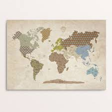 Large Vintage World Map by Featured Items U2013 Modern Kids Gallery