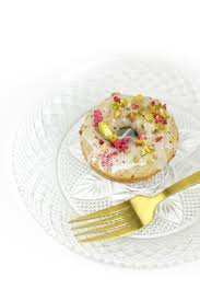 raspberry white chocolate baked donuts feast west
