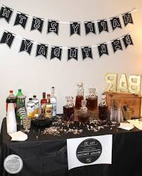 Planning A Guy s Birthday Party Whiskey Tasting Manly Theme