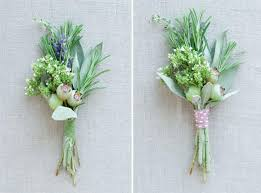 Wedding Boutonnieres Diy Herbal Wedding Boutonnieres All You Need Is Love Events