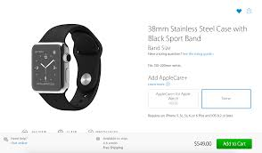 almost all apple watch models sold out applecare pricing