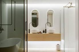 Award Winning Monochromatic Bathroom By Minosa Design by Classy 10 Small Bathroom Design Awards Decorating Inspiration Of