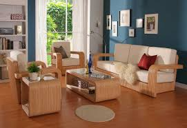 inspiring modern living room design ideas with latest wooden sofa