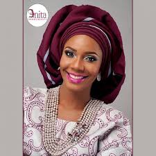 african make and asooke hair styles nigerian wedding burgundy aso oke by molbaks makeup by anita brows