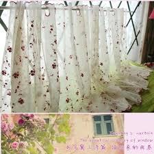 Sunflower Curtains Kitchen by Online Buy Wholesale Sunflower Valance Kitchen Curtains From China