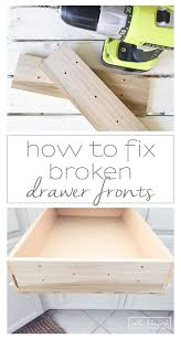 Kitchen Cabinet Drawer Repair Best 25 Drawer Fronts Ideas Only On Pinterest