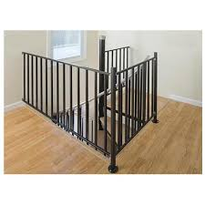 Metal Landing Banister And Railing The 25 Best Stair Railing Kits Ideas On Pinterest Staining