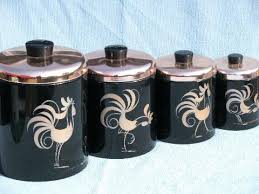 copper kitchen canister sets black canister sets for kitchen for vintage roosters kitchen