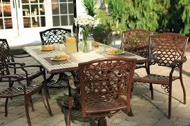 outdoor bench glider steel patio furniture garden brown cushions