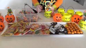 plastic halloween bags halloween candy lolly bags sylvanian cooking with b youtube