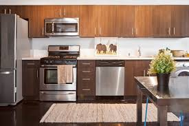 warm modern kitchen small space solution kitchen and laundry room combo 15127