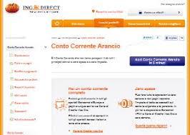 ing direct sede legale conto corrente arancio di ingdirect conviene