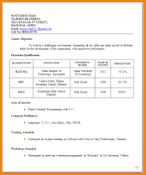 How To Format A Job Resume by 5 Resume Format For Jobs Forklift Resume