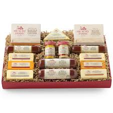 summer sausage gift basket best friends gift box hickory farms
