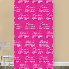 personalized photo backdrop photo booth backdrop fabulous birthday personalized photo booth