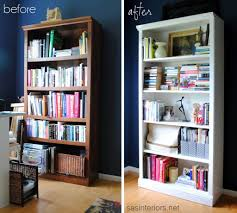 library room arranging bookshelves with simple design of