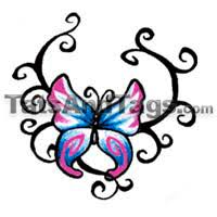butterfly temporary tattoos designs by tats and tags