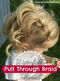 normal hair length for two year old waterfall pull through braid tutorial nume giveaway perfect
