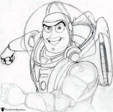 coloring stunning draw buzz lightyear coloring draw