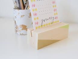 Desk Calendar With Stand How To Make A Reusable Wooden Desk Calendar Base