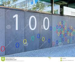 wall of the google office building in zurich switzerland