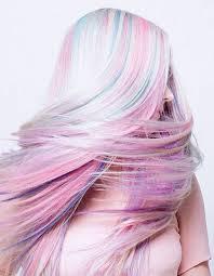 rainbow color hair ideas hairstyles star hair trend pastel hair highlights or rainbow