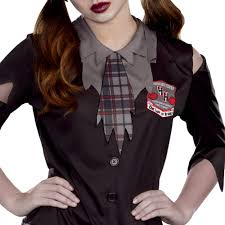 plaid shirt halloween costumes high horror teen girls u0027 halloween costume medium walmart com