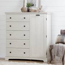 Armoire Changing Table South Shore Avilla Winter Oak Armoire 10246 The Home Depot