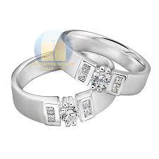 cincin lapis emas cincin kawin verona perak lapis emas putih cincin kawin emas