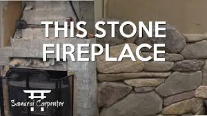 cleaning a stone fireplace fireplace makeover youtube