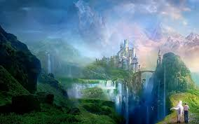 cloudy world wallpapers nice fantasy world backgrounds 10914 hdwpro