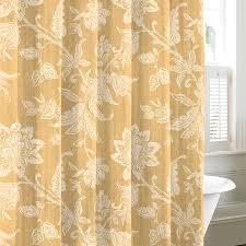 gold shower curtains carlton