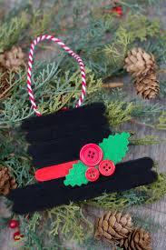 25 and easy diy popsicle stick ornaments twentyfive things
