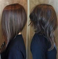 cute shoulder length haircuts longer in front and shorter in back inverted bob haircut short hairstyles pinterest inverted bob