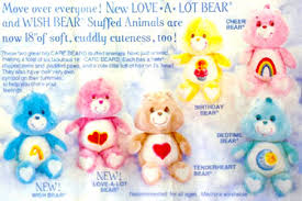 care bears plush ghost doll