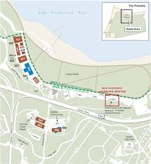 Presidio San Francisco Map by Mis Historic Learning Center Building Site