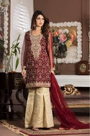 bridal dresses maroon bridal wear g13107 exclusive online boutique