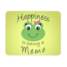 Meme Mouse Pad - happiness is being a meme mouse pad calikays