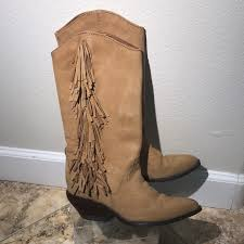 womens size 12 fringe boots 69 zodiac shoes zodiac fringe boots cowboy boots size 6 m