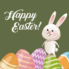 happy easter cards happy easter card with bunny vector 15 vector animal